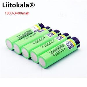 Image 5 - Liitokala 18650 3400新しいオリジナルNCR18650 3400充電式リチウムイオンバッテリー/パワーバンク/懐中電灯
