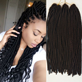 18inch 100g Havana Mambo Twist Crochet Braids Hair Extensions Faux locs kanekalon braiding hair Jumbo Twist Crochet Dreads