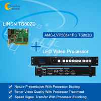 Cheap Price Led Video Processor AMS MVP508 With Led Sending Card Linsn Ts802d Including Processor And