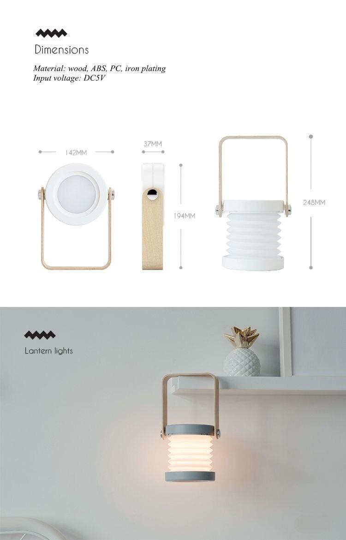 Criativo LED Multifuncional Viagem de Acampamento Lanterna