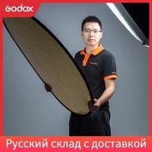 Портативный складной Круглый отражатель Godox, 110 см, 2 в 1, 43 дюйма, для фотостудии