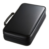 NEW Shock resistance and fall Portable 96 Disc Capacity DVD CD Case for Car Media Storage CD Bag 20