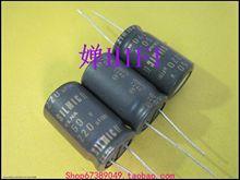все цены на 50pcs ELNA original SILMIC II brushed copper foot audio capacitor 50v220uf 16v25mm free shipping онлайн