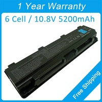 6 cell laptop battery PA5024U PA5023U for Toshiba Satellite C800 C805 C845 C850 C855 C870 C875 L800 L805 L830 free shipping
