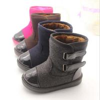 New Winter Fashion Models Baby Snow Boots Plus Thick Velvet Cuffs Warm Snow Boots For Boys