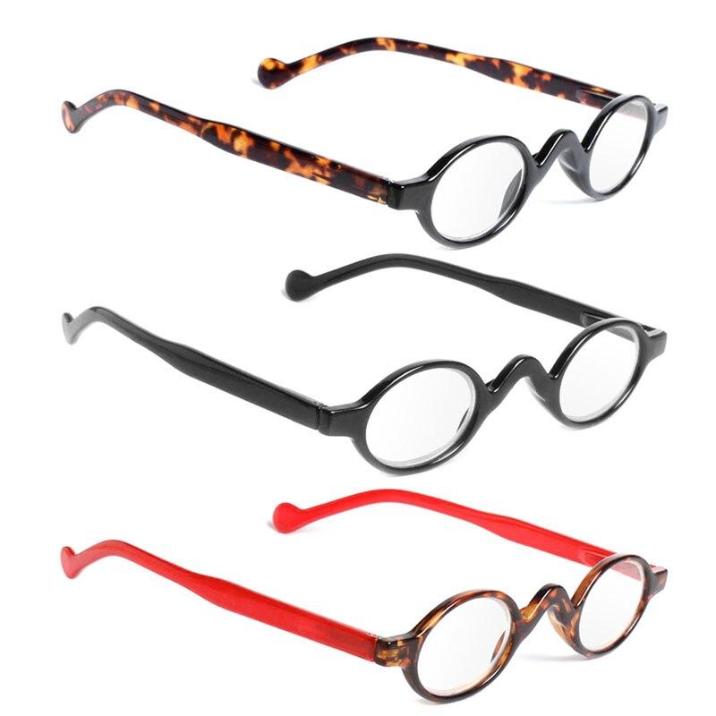 Ausdrucksvoll Vintage Style Kleine Runde Rahmen Männer Frauen Leser Lesebrille Presbyopie Brille Den Speichel Auffrischen Und Bereichern