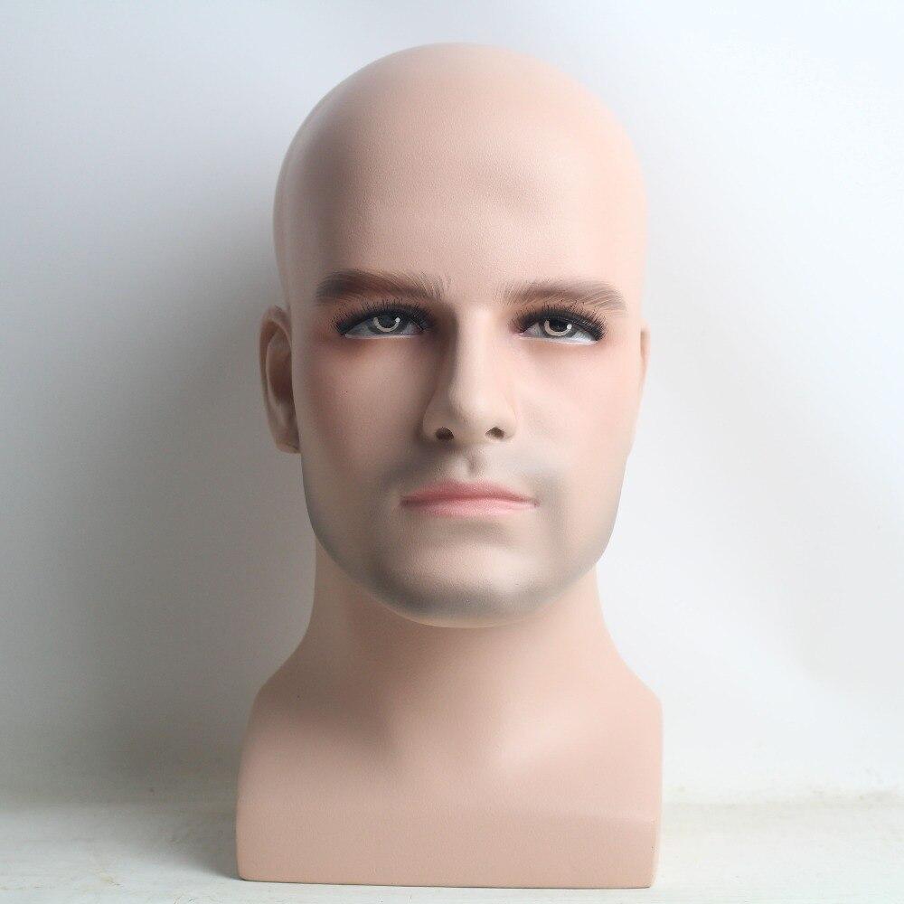 Realistic FiberglassMale Mannequin Head For Wig And Sunglasses Display Бюстгальтер