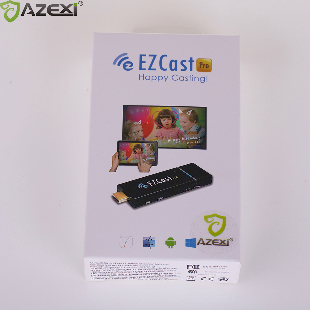 EZCast Pro Dongle Output 1080p Windows iOS Andriod Miracast/Airplay/DLNA Supports 4 to 1 Split Screens OTA Smart TV Stick ezcast m2 wireles hdmi wifi display dongle adapter tv stick receive andriod miracast dlna support ios android windows