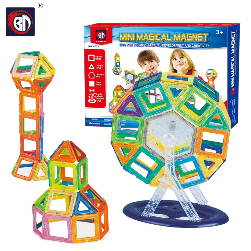 Building Toys For Teenagers : Pcs mini magnetic block set designer construction model