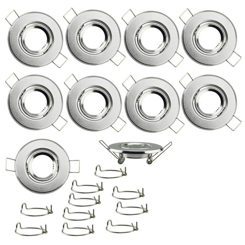 Light Fixture Base: 10pcs MR11 LED Light Ceiling Spotlight Fixture Lamp Holder