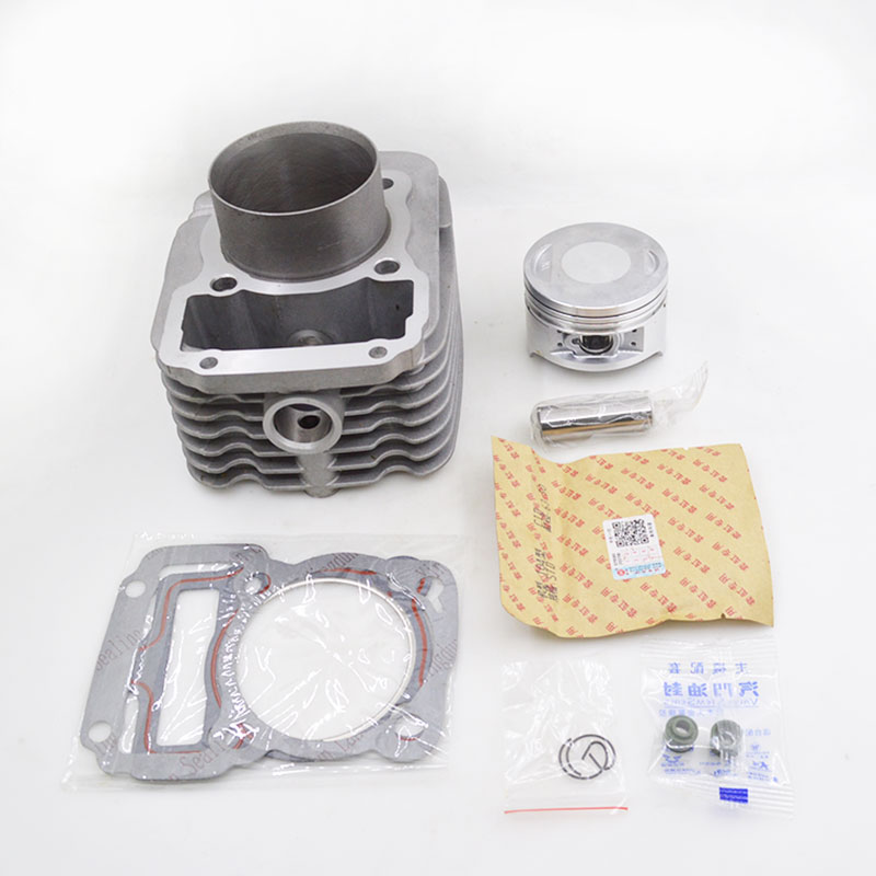 Motorcycle Cylinder Piston Ring Gasket Kit For Zongshen Piaggio Jialing CG200 CG250 CG 200 250 Hurricane Engine Spare Parts