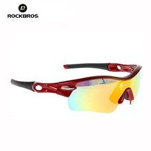 RockBros 2015 New Men Women Polarized Cycling eyewear Outdoor bike bycle Glasses 0089 Sports Sunglasses 5 Lens