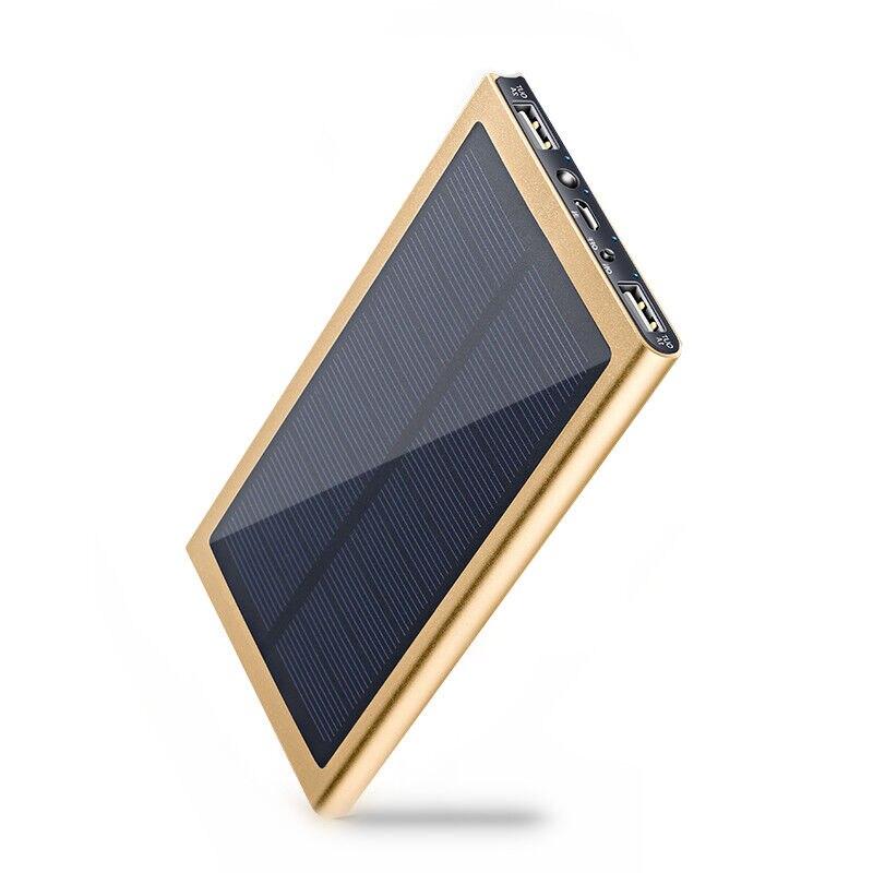 Цена за YOTEEN 10000 мАч Solar Power Bank Портативный Телефон Зарядное устройство Солнечная Powerbank Для IPhone 6 s 7 Внешних Банка Мощность для Мобильных Устройств