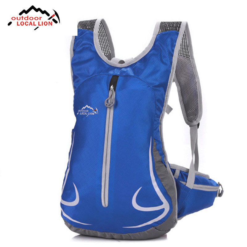 Outdoor Local Lion Outdoor Activities Backpack Men Womans Camping Riding Bike Bag Ultra-light Zero Pressure Mountaineering Bags