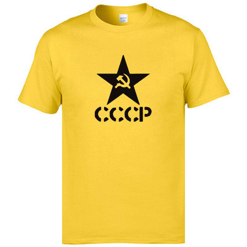 baijoe лето СССР россии ссср советский союз футболки для мужчин человек с Корк рукавом футболки москва россия для мужчин с футболки для девочек хлопок о средства ухода за кожей шеи футболки