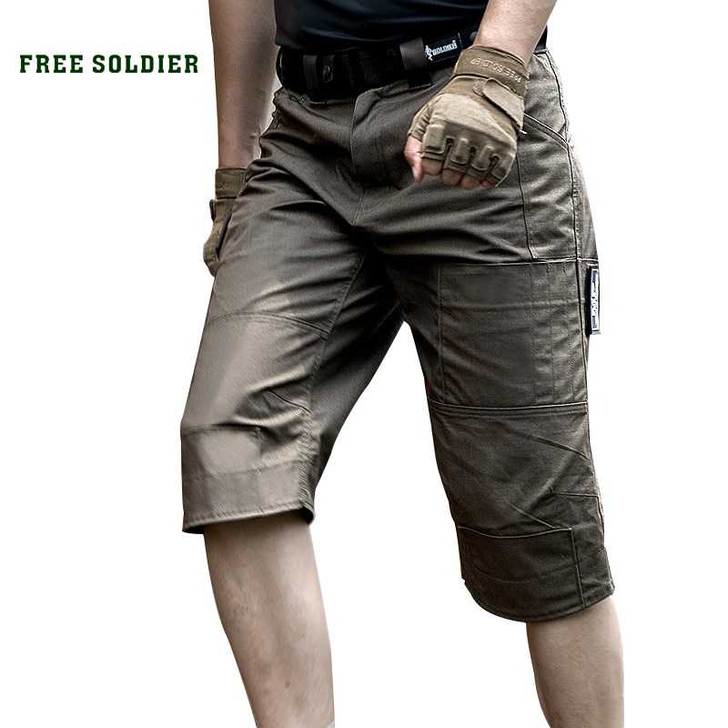 FREE SOLDIER Outdoor Sports Hiking Tactical Shorts Men s Summer Military Shorts Pants For Climbing Multi