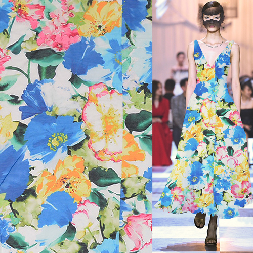 top 9 most popular floral print fabric silk cotton brands