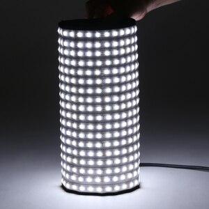 Image 3 - FalconEyes LED วิดีโอสตูดิโอถ่ายภาพแสง 34 W/62 W 5600K Dimmable แบบพกพาต่อเนื่อง RX 12T/ RX 18T ชุด