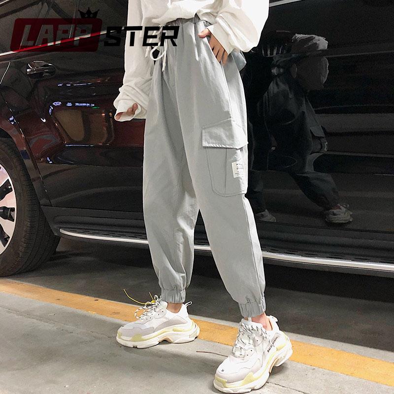 FidgetGear Womens cotton linen pants straight wide leg pants baggy trousers S-2XL