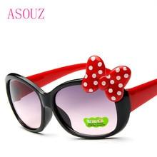 купить 2019 new fashion men and women children's sunglasses classic brand design round children's glasses UV400 bow sunglasses по цене 113.63 рублей