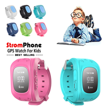 Child Smart Watch GPS Tracker Phone Q50 AGPS LBS SOS Anti-Lost Kids Smartwatch Support SIM Card Wearable Devices for Android iOS