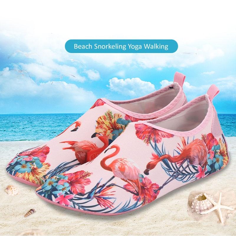 BEOT 3D Printed Water Sports Shoes Barefoot Quick-Dry Space Aqua Yoga Socks for Men Women 8.5-9.5 M US Women 7.5-8.5 M US Men