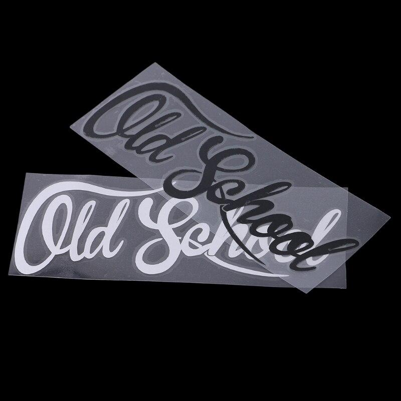 19x7CM OLD SCHOOL Vinyl Custom Classic Car Styling Decal Sticker Car Accessories
