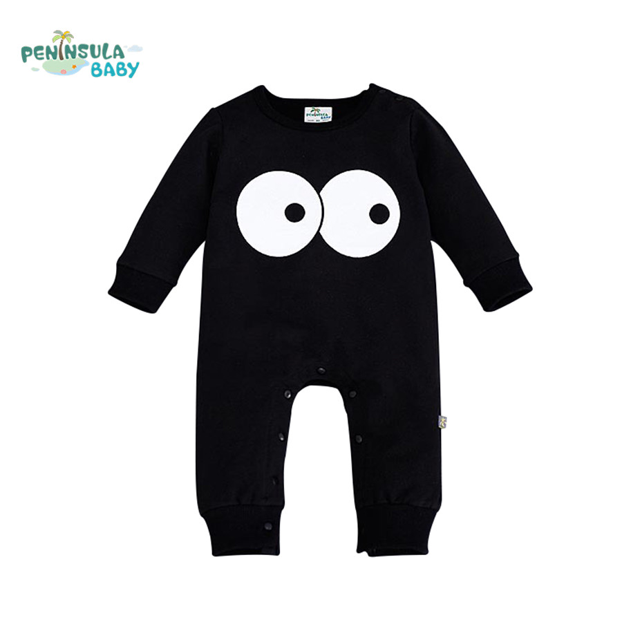 Baby Boys Girls Long Sleeve Rompers 2016 Autumn Newborn Cartoon Funny Jumpsuit Infant Baby Clothing Gift roupa menino cotton baby rompers set newborn clothes baby clothing boys girls cartoon jumpsuits long sleeve overalls coveralls autumn winter