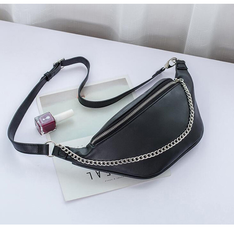 HTB1z99VXUzrK1RjSspmq6AOdFXan - Fashion Waist Bag with Chains