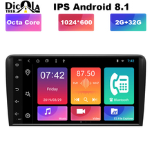 8 «ips HD Android 8,1 радио gps RCA Автомобильный DVD плеер для автомобиля Audi A3 8 P 2003 2004 2005 2006 2007 2008 2009-2012 S3/RS3 Sportback
