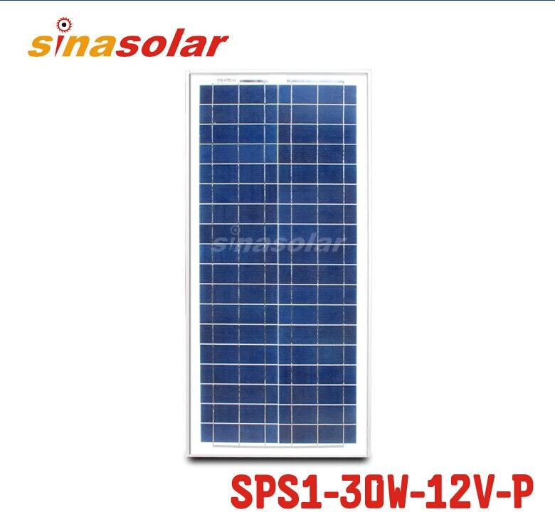 30W 12V Module Polycrystalline Solar Panel