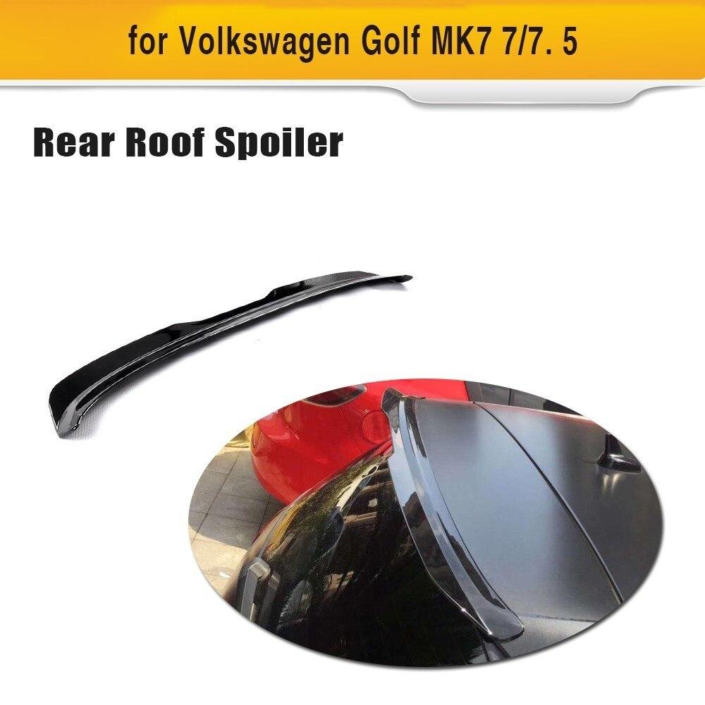 ABS Car Rear Roof Spoiler Wing Window Lip for VW Volkswagen Golf 7 2014 - 2018 MK7 7 / 7. 5 GTI R Bumper Only стоимость