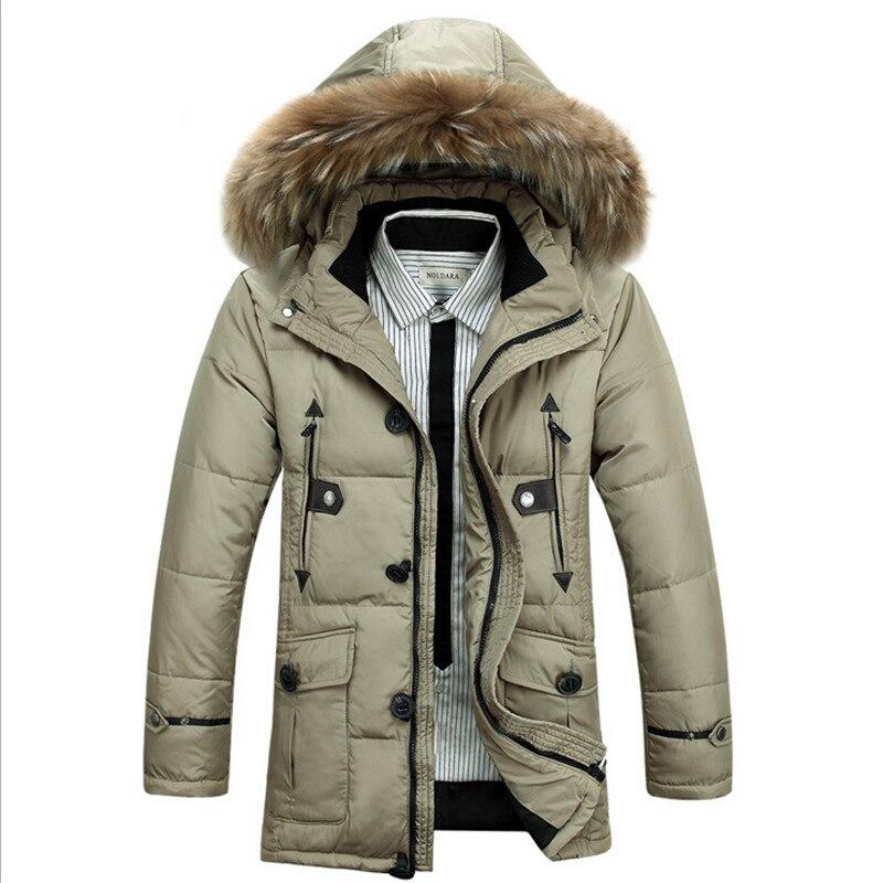 San Francisco 02a42 449ee 2015 nuevo invierno pato chaquetas hombres abrigos de nieve ...