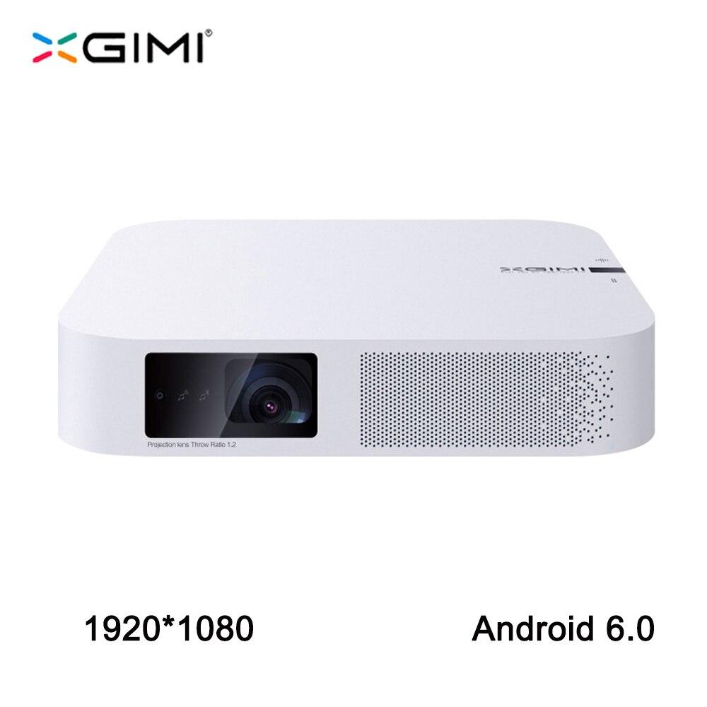 XGIMI Z6 1920*1080 Full HD DLP Mini Projektor 3D Android 6.0 Wifi Video Strahl Home Bluetooth HDMI FÜHRTE Projektor XGIMI Z4 upgrade