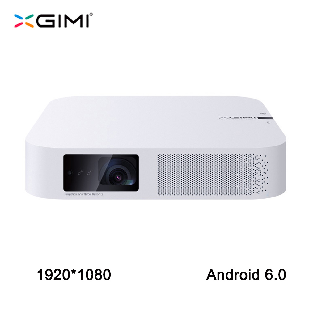 XGIMI Z6 1920*1080 Full HD DLP Mini proyector 3D Android 6,0 Wifi Video haz casa Bluetooth HDMI LED proyector XGIMI Z4 actualización