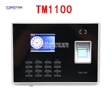 Management-System Attendance Fingerprint TM1100 Lcd-Screen Biometric Tracking And Student-Time