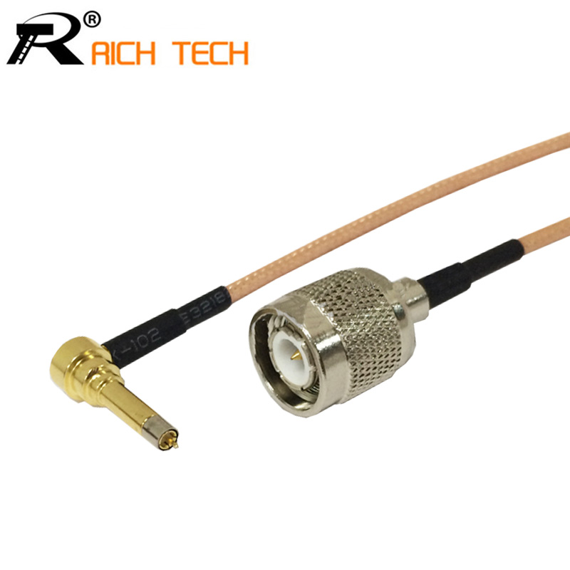 все цены на TNC cable male plug switch MS156 3G modem connector RF pigtail cable RG316 15cm wholesale NEW онлайн