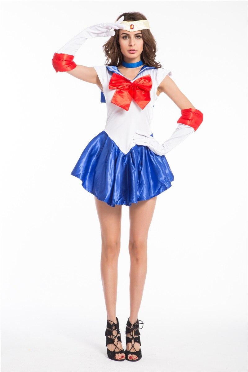 Bekleidung Zubehör Zielsetzung Freies Verschiffen Heißer Verkauf Zy487-6 Sailor Moon Kostüm Professionelles Design