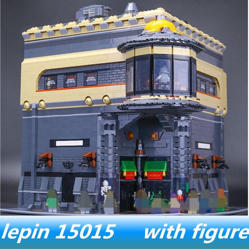Лепин 15015 Лепин мир Юрского периода динозавра музей модель комплект legoing создатель legoingjurassic парк строительные блоки кирпичи игрушки