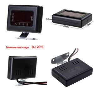 Image 4 - 1PC 12V 24V Universal Digital Wasser Temperatur Gauges für Auto + Wasser Temperatur Sensor Kopf Stecker 10MM 12 14 MM 16MM 17MM 21MM