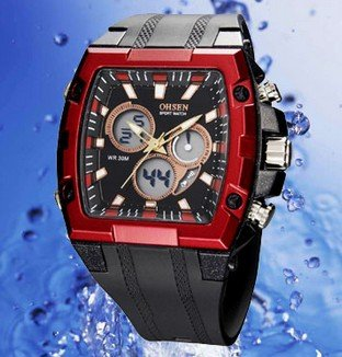 Watch Mens Water-Proof New-Fashion Rubber 6-Color Hot-Sale Unisex