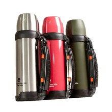 1000 ML Thermos Vakuum Edelstahl Thermoskanne Wasserflasche drei farben top-qualität