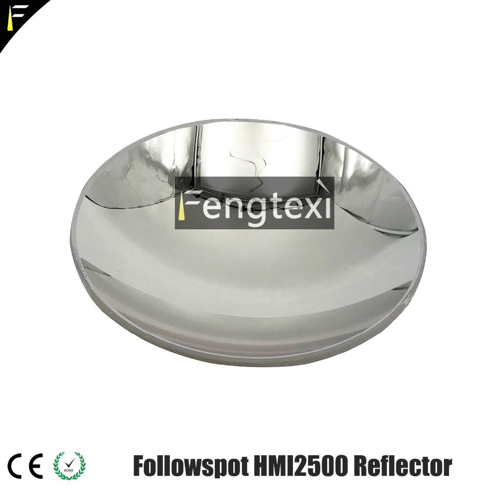 Follow Spotlight Moving Head 8.7Cm Reflector Bowl 575/1200/1500/2500w Follow Spot Glass Bulb Reflective Bowl Reflector