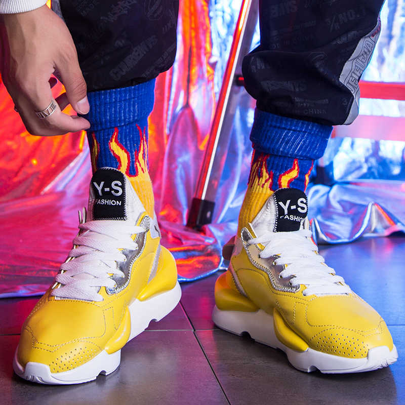4c175822f460 ... 2019 spring air 700 yellow shoes balenciaca sneakers light outdoor  fashion trending white air big size