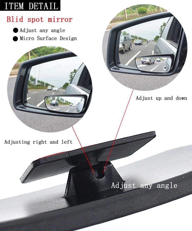Autologix Automotive Accessories Car Truck Blind Spot Mirror Side Wide Rear View