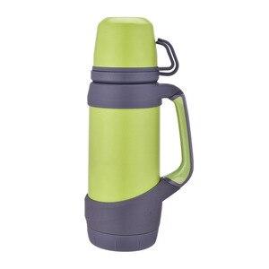 Image 4 - Keelorn garrafas térmicas de vácuo aço inoxidável 1.2l 1l tamanho grande viagem ao ar livre copo garrafa térmica copo térmica café
