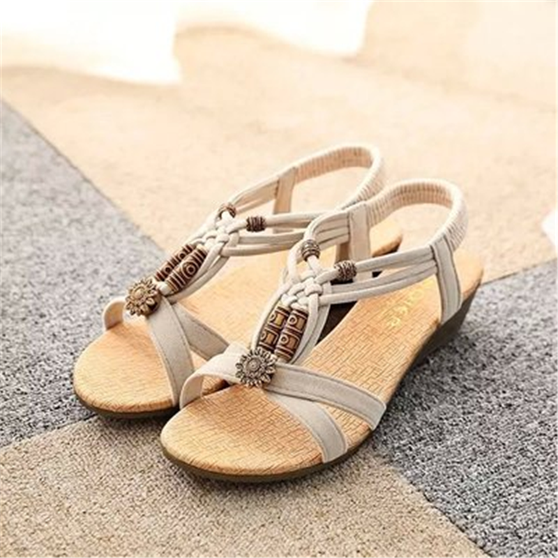 women sandals Shoes flat Sandals Low Heel Wedges Summer women Open Toe Platform Sandalias ladies shoes gladiator sandals summer shoes woman platform sandals women soft leather casual open toe gladiator wedges women nurse shoes zapatos mujer size 8