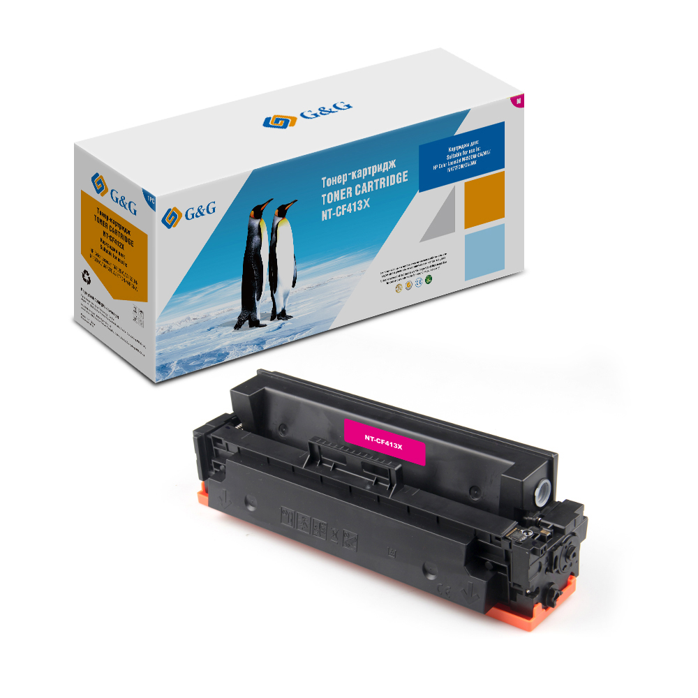 Computer Office Office Electronics Printer Supplies Ink Cartridges G&G NT-CF413X for HP LaserJet ColorM452 dn/dw/nw M477 fdn/fdw