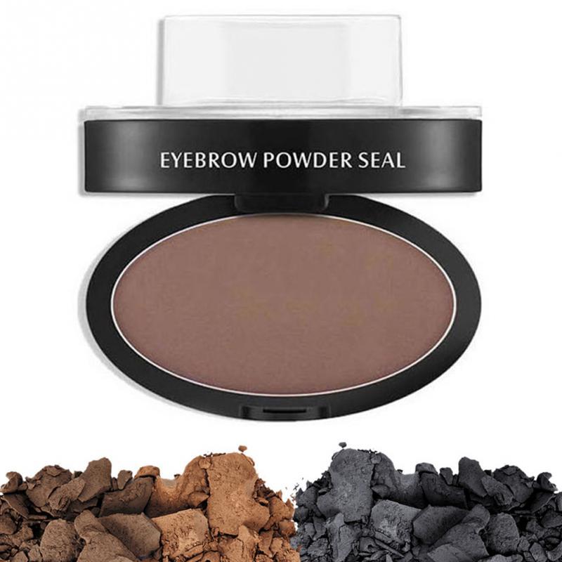 Professional Natural Eyebrow Stamp Waterproof Eyebrow Powder Seal Quick Makeup Eye Brow Cosmetic Beauty Makeup Tool Tattoo Brow 4