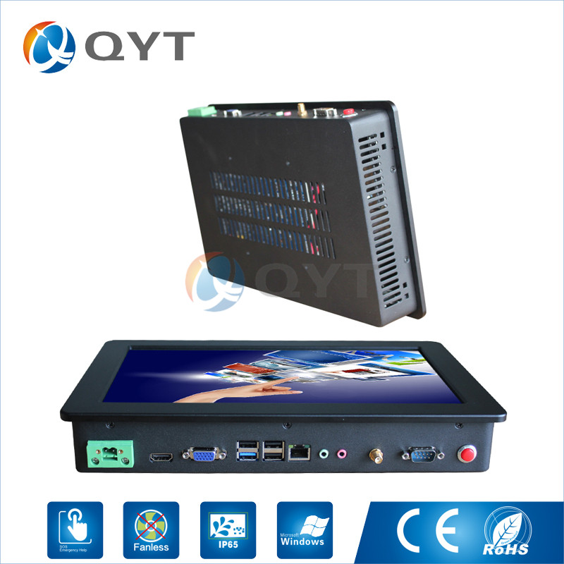 widescreen 12 inch Resistive touch all in one PC Inter N3150 1 6GHz 1280x800 2GRAM 32G